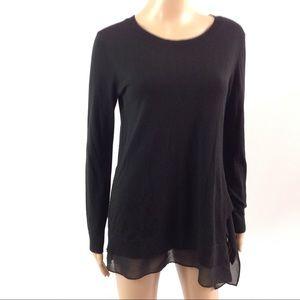 $215 Allsaints Miro Knit Jumper Sweater Size M
